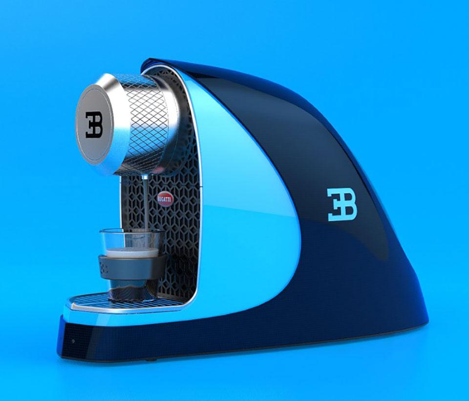 Bugatti Etiron Nespresso Espresso Machine