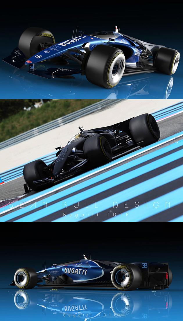 Bugatti F1 Car