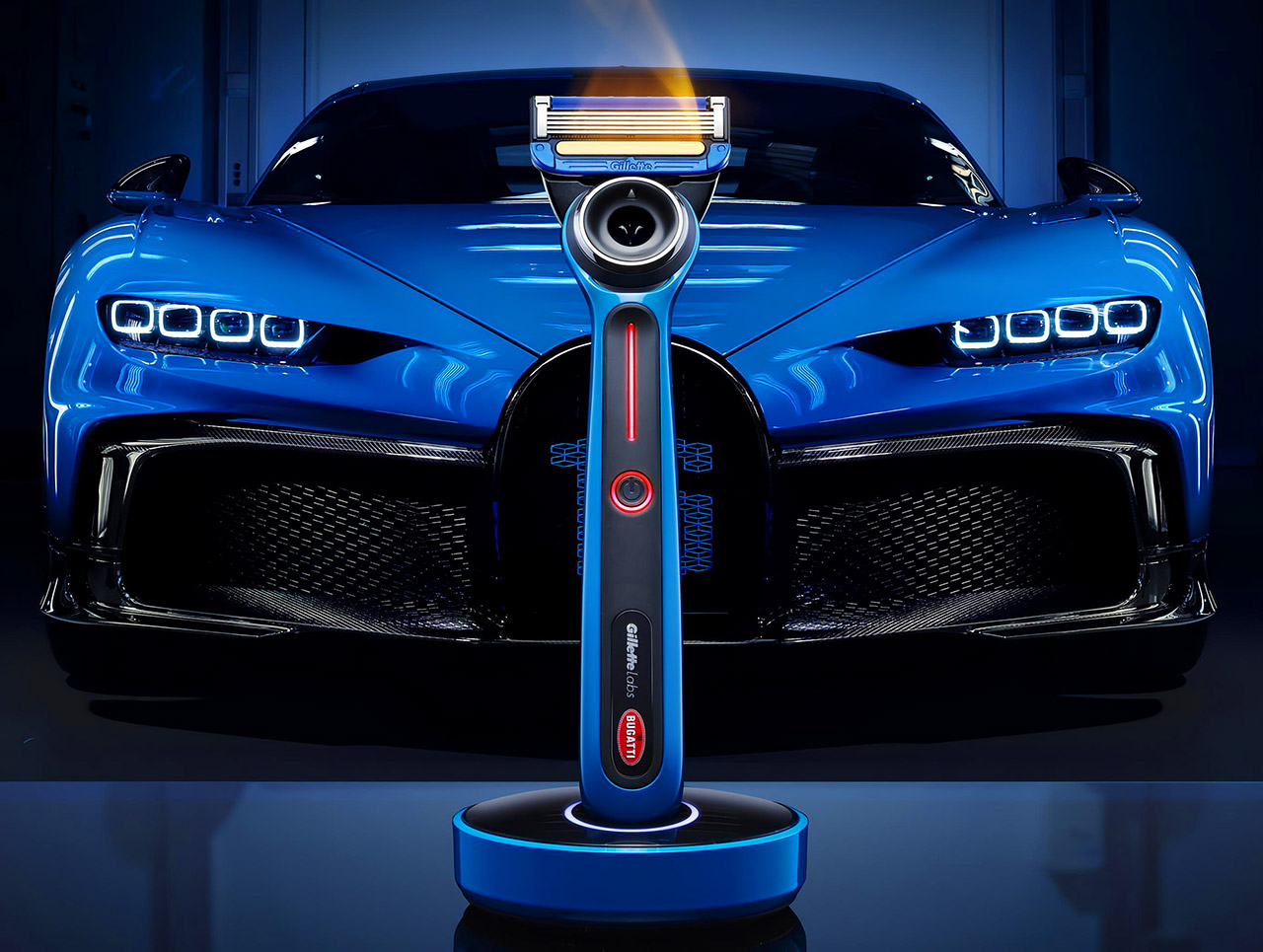 Bugatti Gillette Special Edition Heated Razor