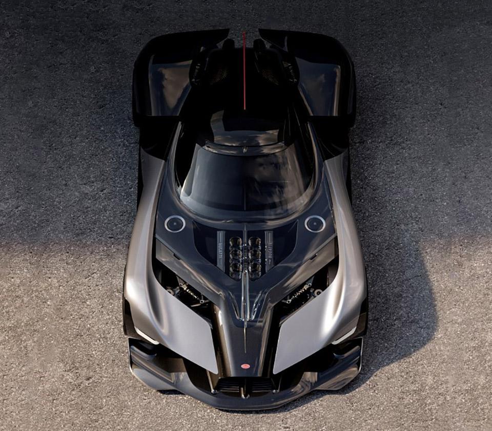 Bugatti La Finale Batmobile
