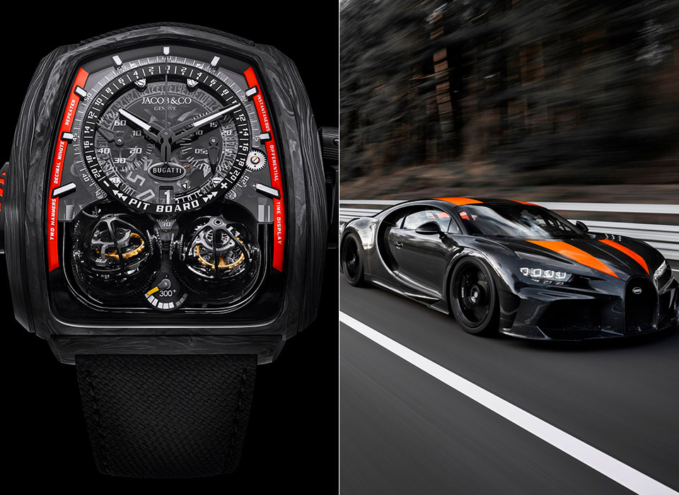 Bugatti Twin Turbo Furious 300 Watch