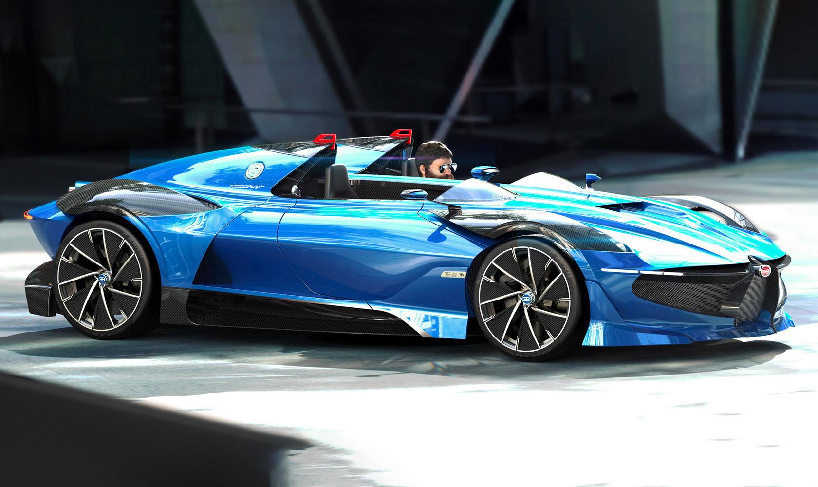 Bugatti Type 251 EVO Speedster Concept