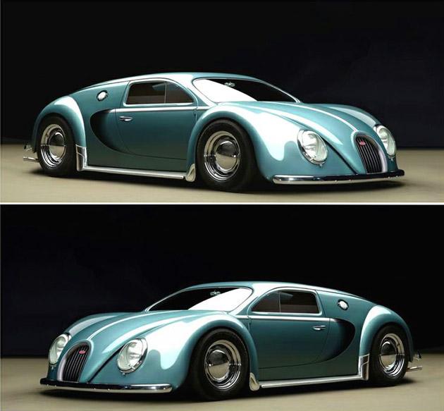 Bugatti Veyron 1945