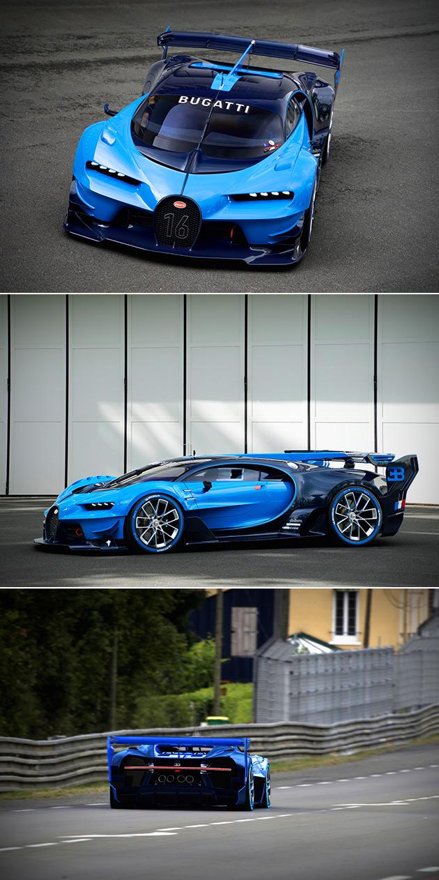 Bugatti Vision Gran Turismo Real