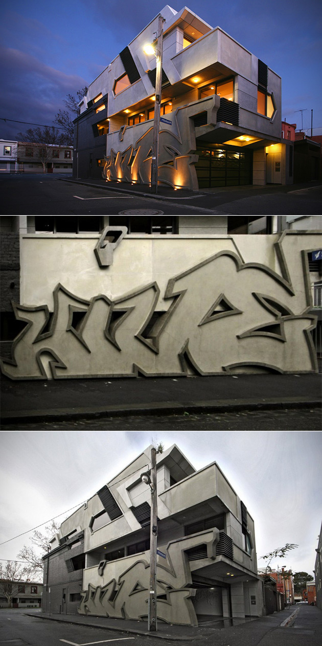 Building Built-in Graffiti