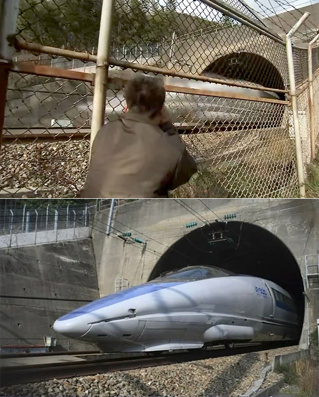 Bullet Train Photography