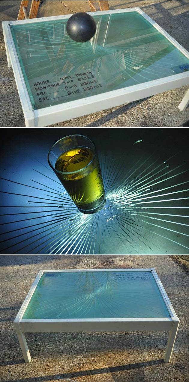 Bulletproof Coffee Table