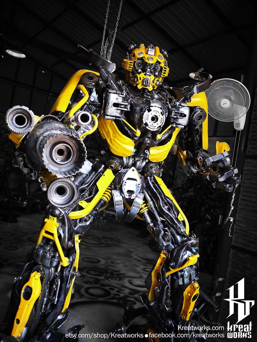 Bumblebee Transformers Scrap Metal