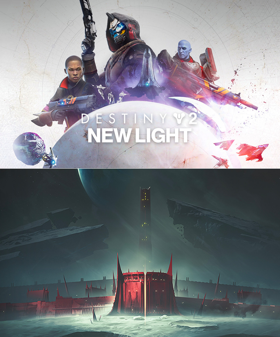 Bungie Destiny 2 New Light Steam