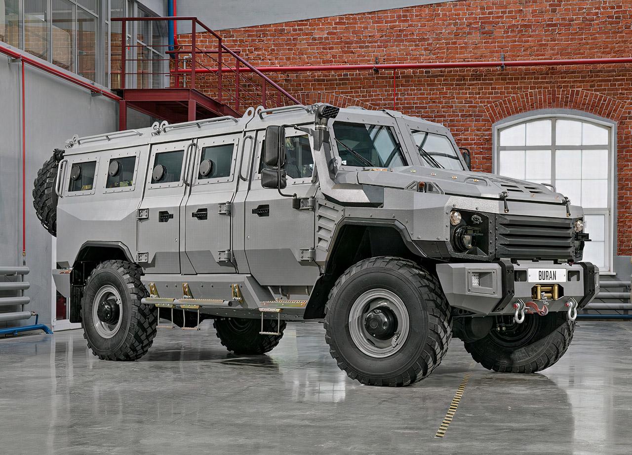 Buran 4x4 Arrmored Vehicle