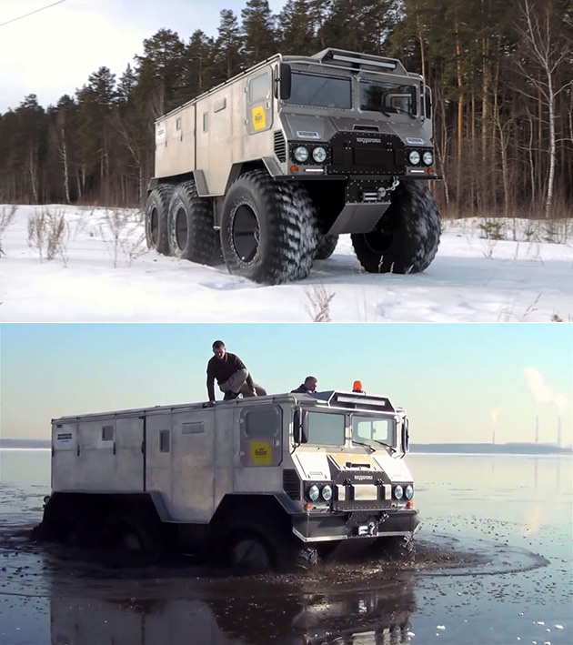 Burlak Expedition Vehicle