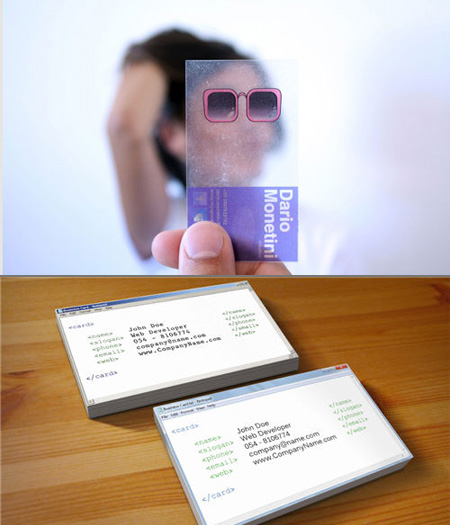Coolest Business Cards of 2011 TechEBlog