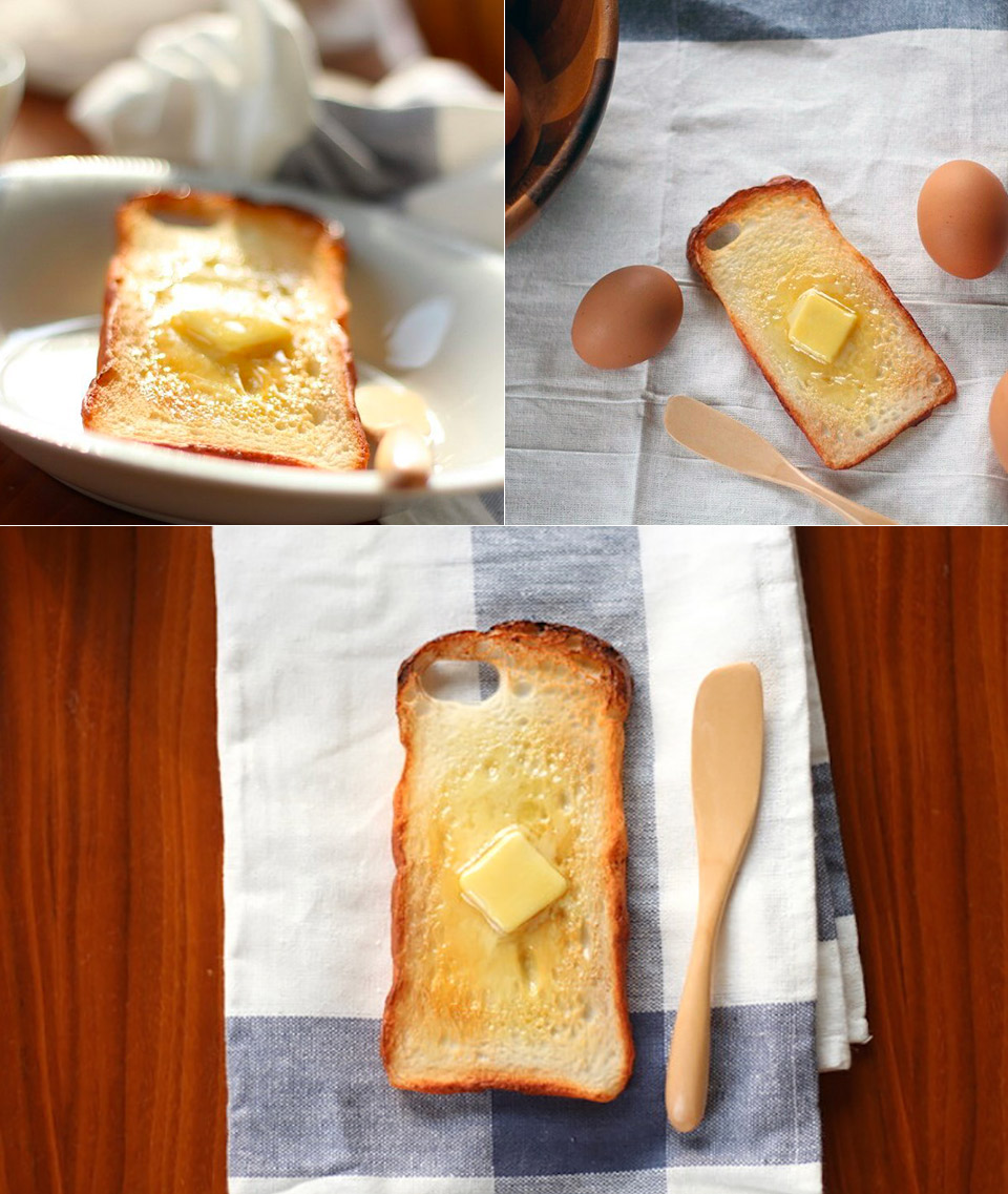 Buttered Toast iPhone Case