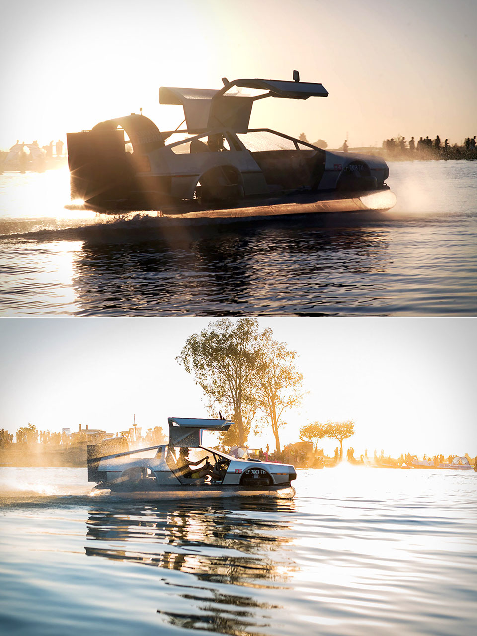 Buy DeLorean Hovercraft