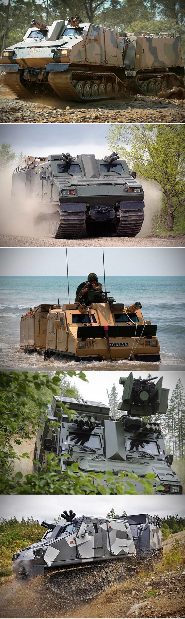 BvS 10 Armored Vehicle