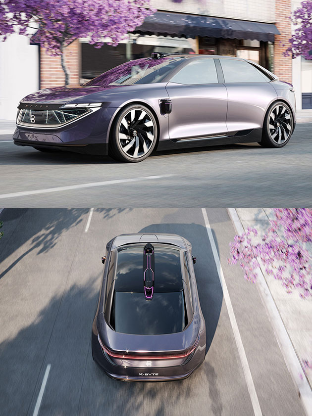 Byton K-Byte Electric Sedan