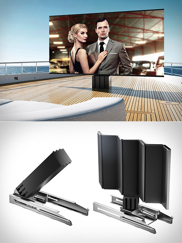 C-Seed Largest Outdoor TV