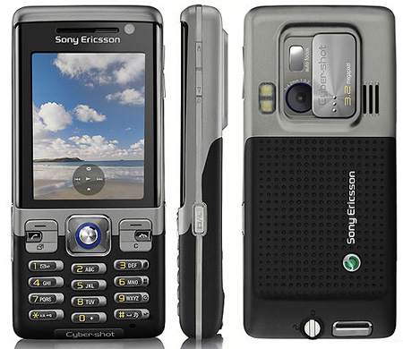 Sony Ericsson C702 3.2MP Camera Phone Hands-On (Video)
