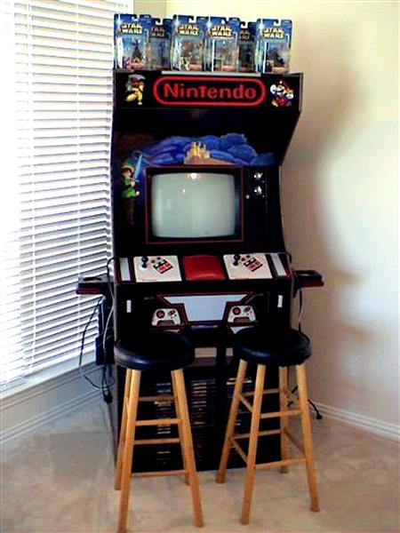 Ultimate NES Arcade Cabinet - TechEBlog