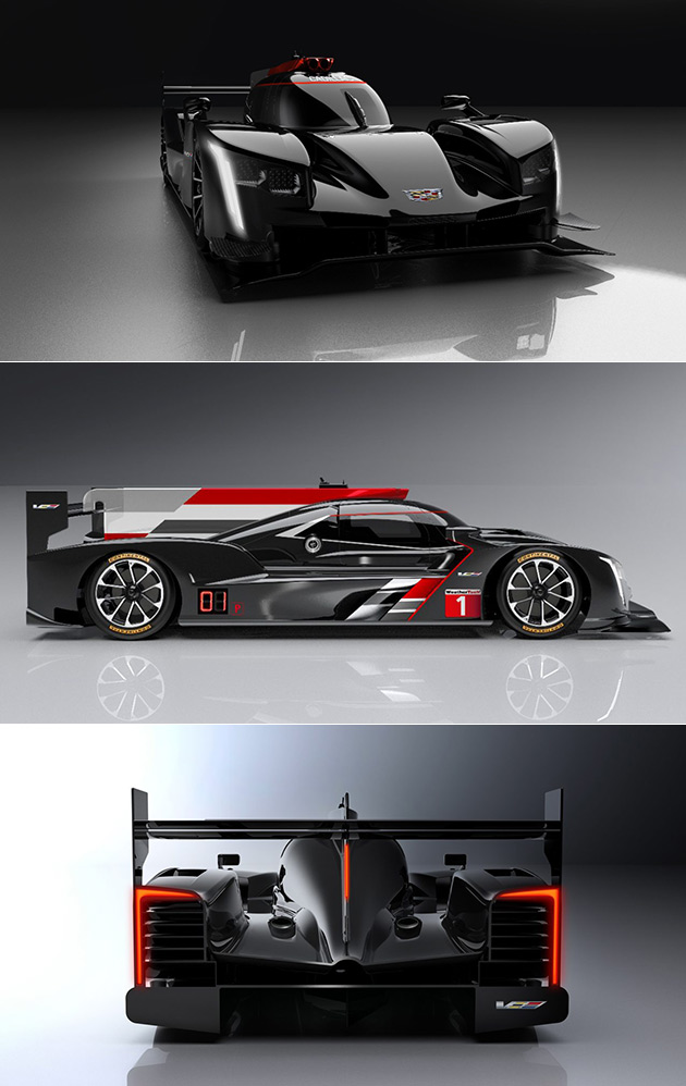 Cadillac S Dpi V R Race Car Prototype Will Soon Hit The Track