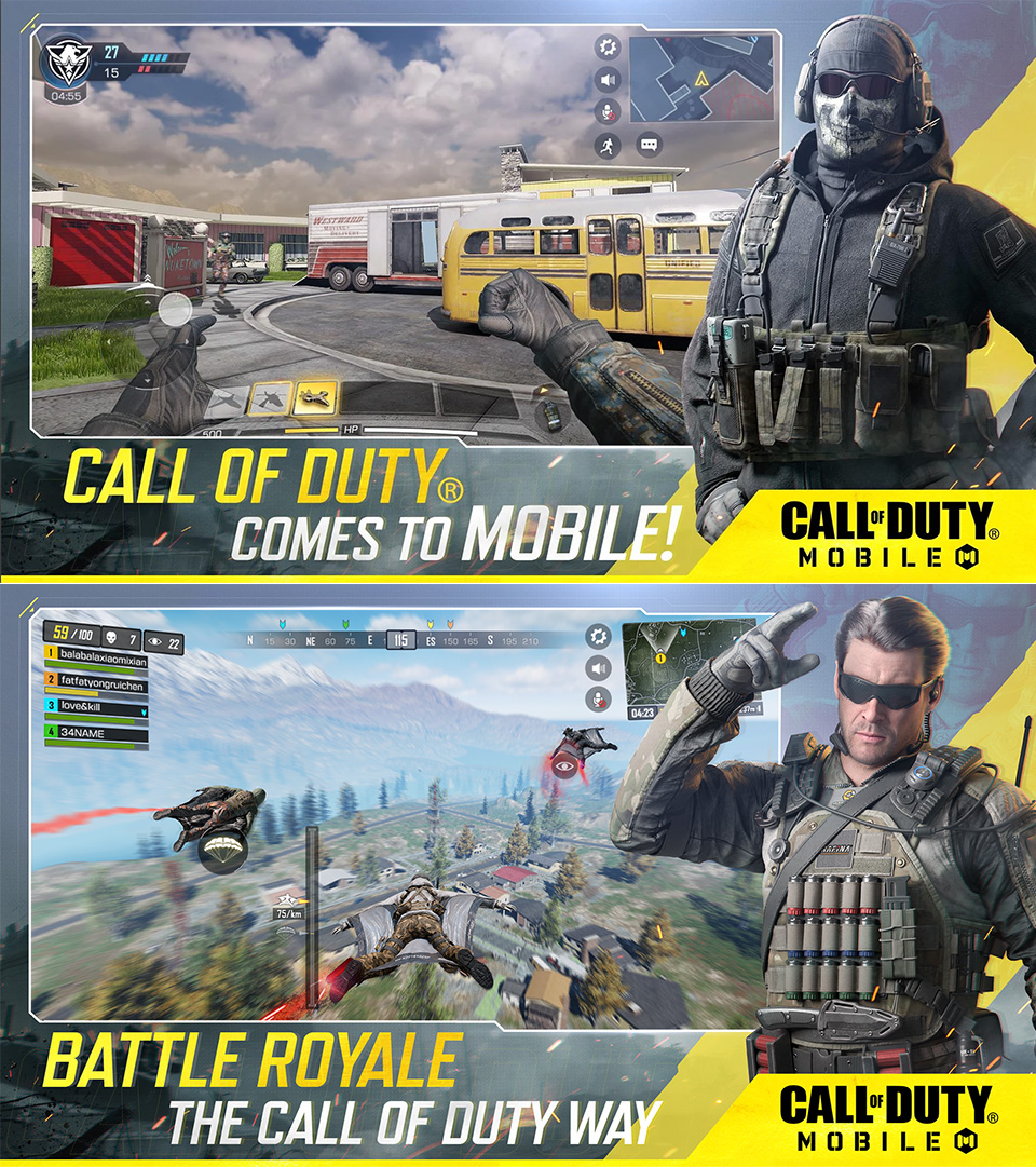 Call of Duty Mobile iOS Android