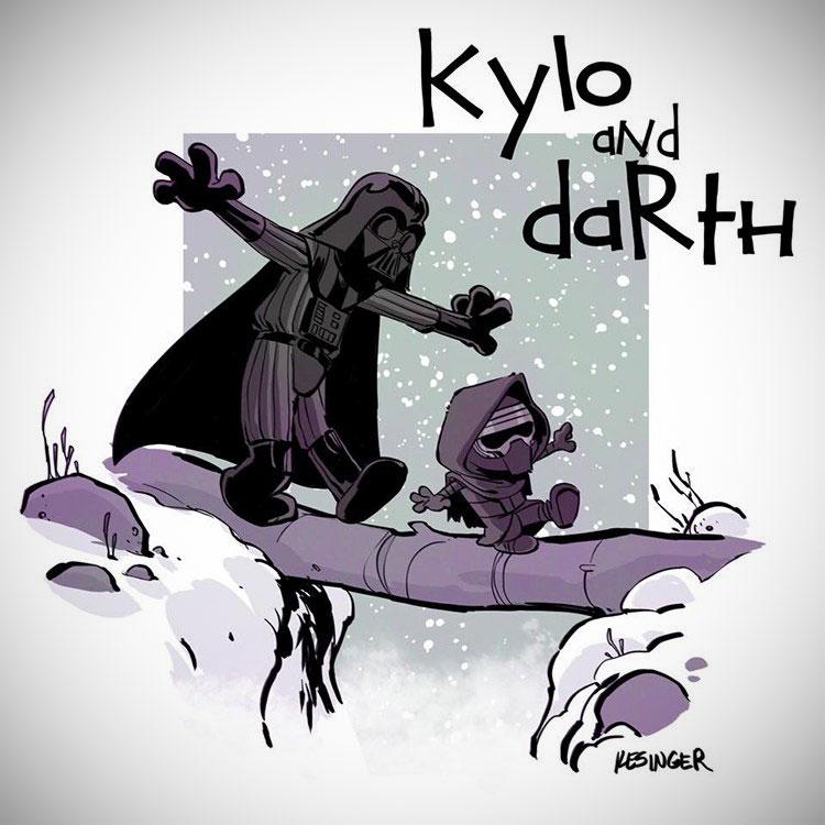 Calvin Hobbes Star Wars