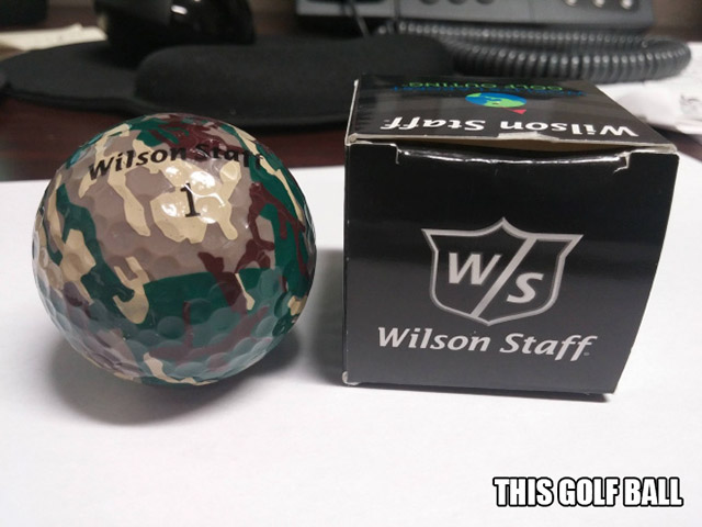 Camouflage Golf Ball
