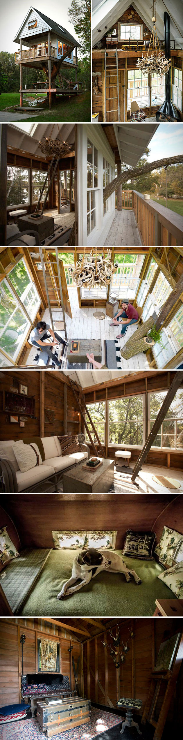 Camp Wandawega Adult Treehouse