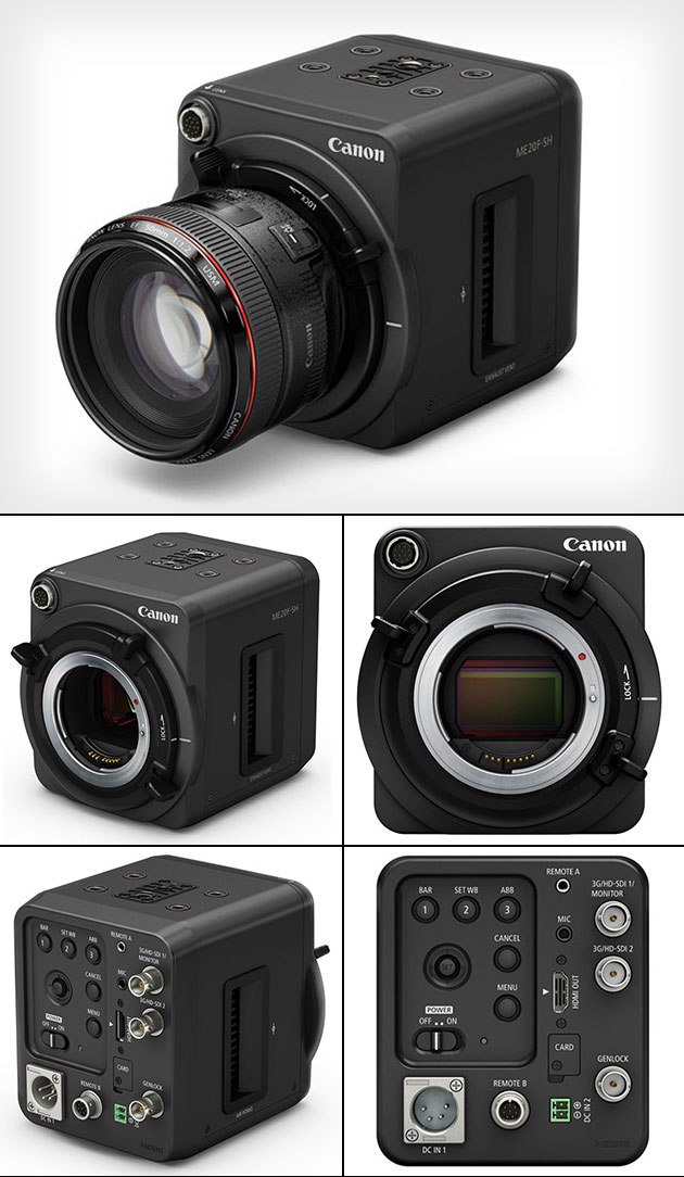 Canon ME20F-SH 4-Million ISO Camera