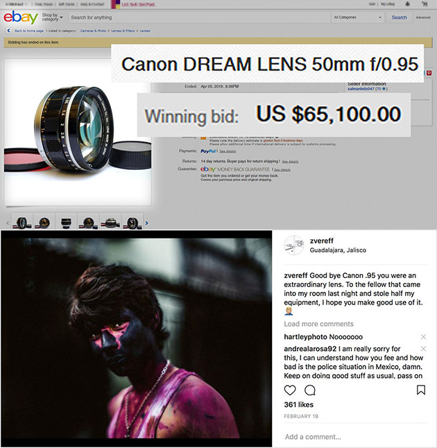 Canon Dream Lens