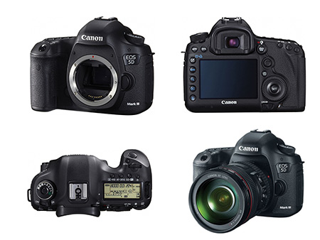 Canon EOS 5D Mark III Full-Frame DSLR Gets 21% Reduction to $2699 ...