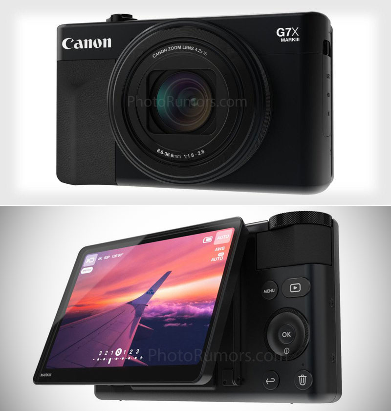 canon powershot g7x mark iii point and shoot kamera k nnte ein vloggers traum technologie. Black Bedroom Furniture Sets. Home Design Ideas