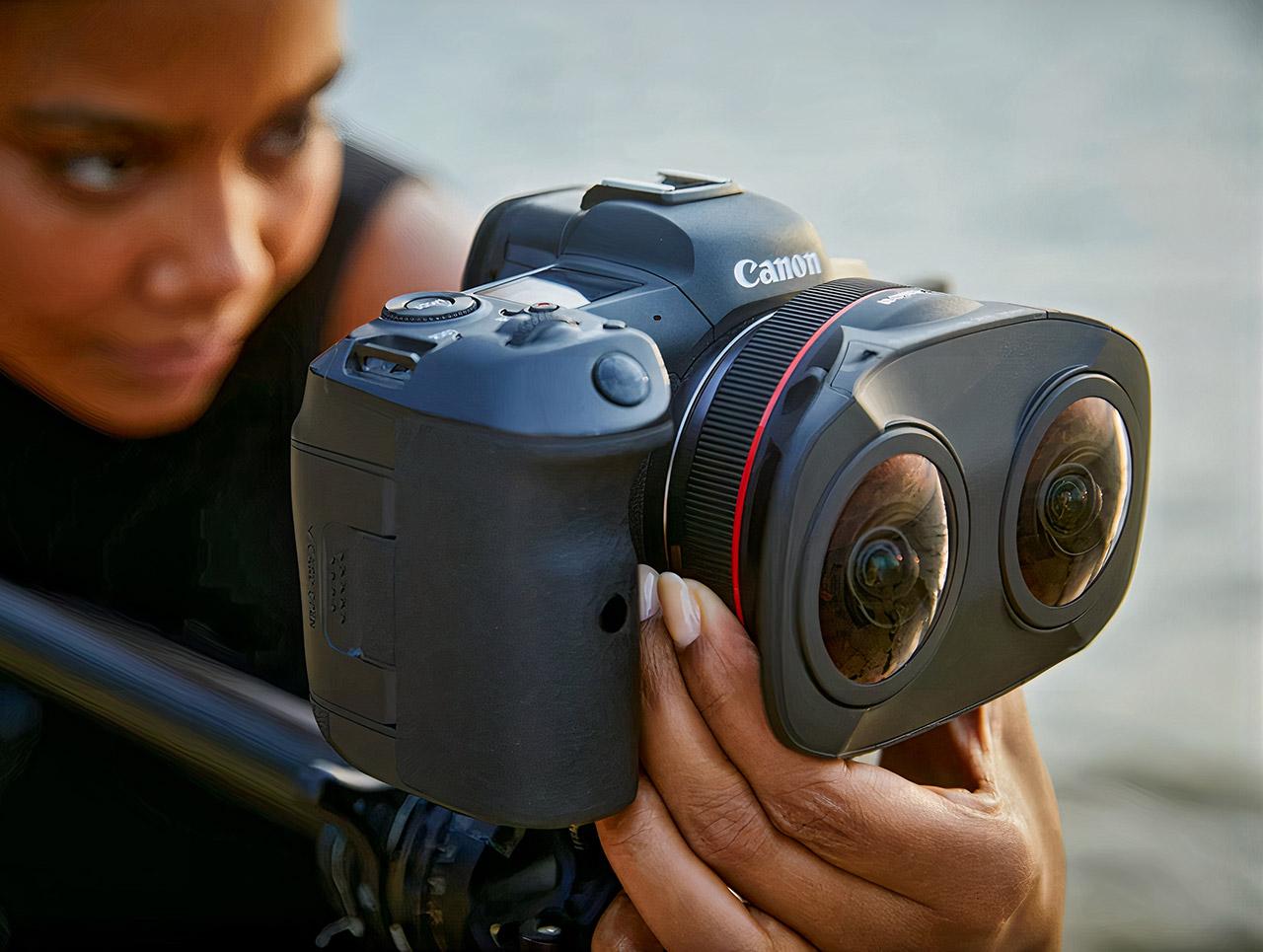 Canon RF5.2mm F2.8 L Dual Fisheye Lens EOS R5
