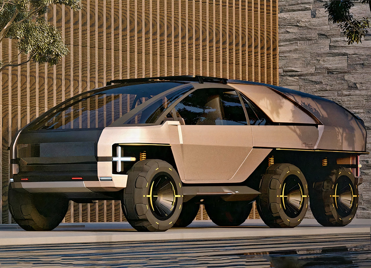 Canoo Anyroad Electric Vehicle Concept