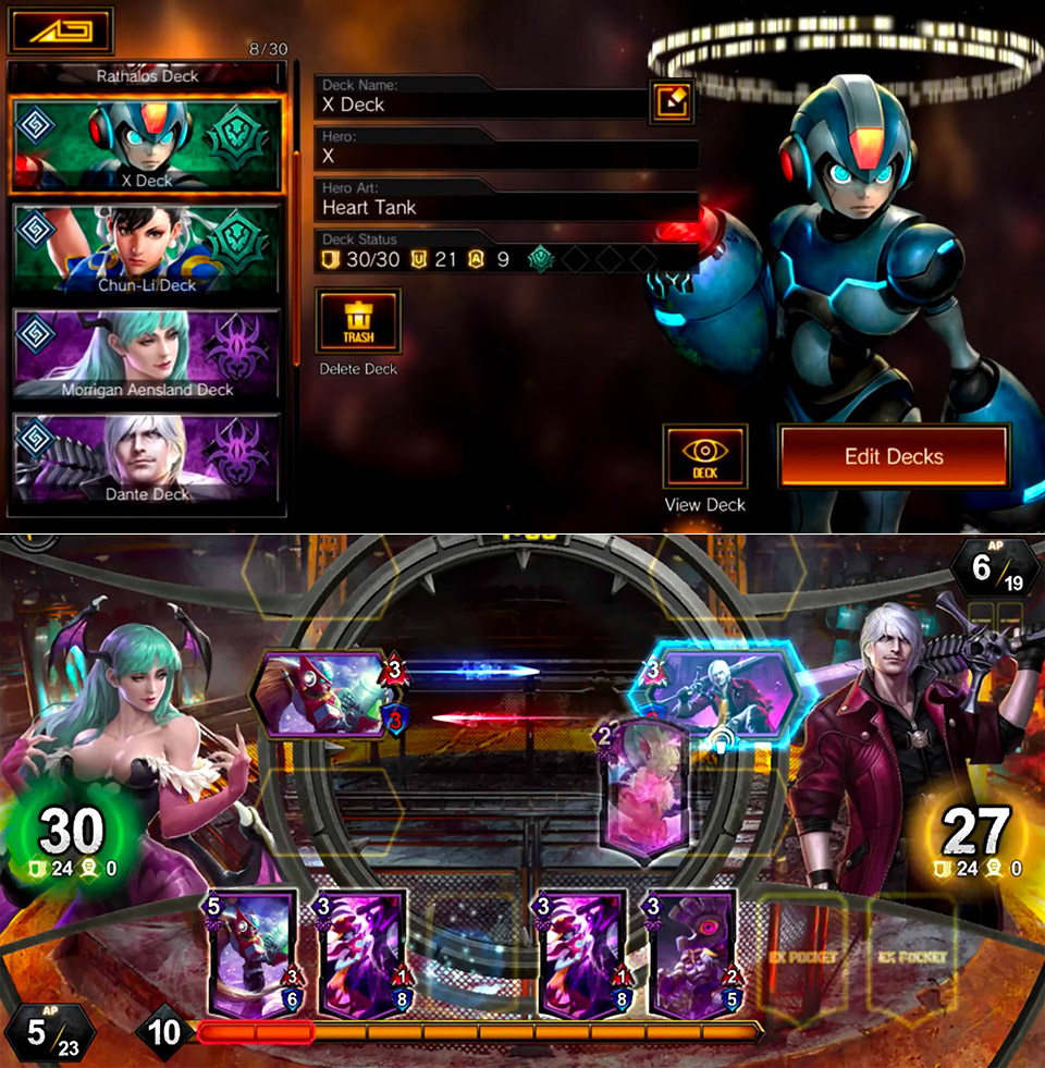 Capcom Project Battle Card Game