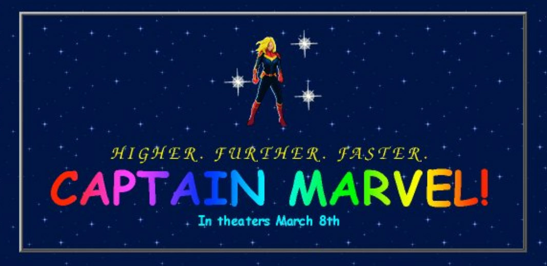 Captain Marvel Official Site