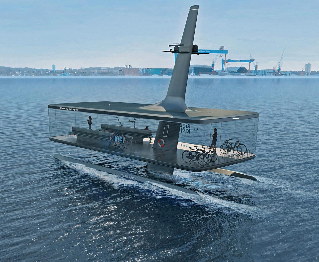 CAPTN Vaiaro Autonomous Electric Ferry
