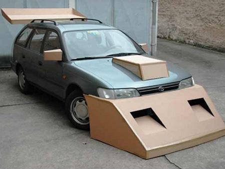 ... ride on july getaway car foil chrysler m car air foil cardboard deer