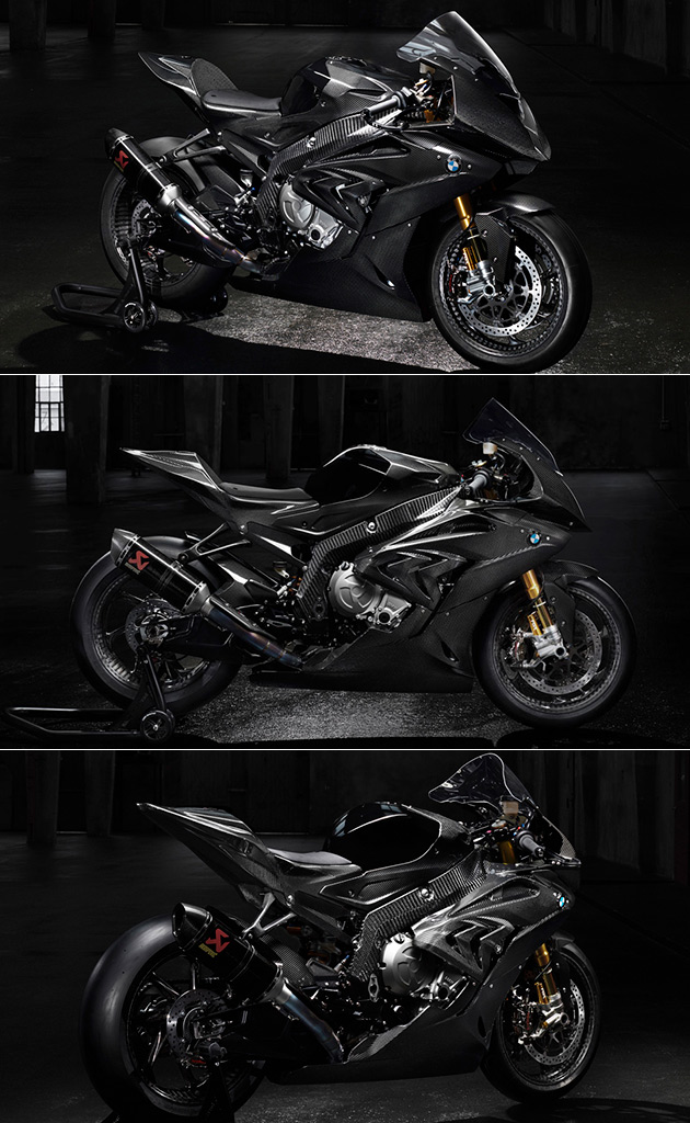 Carbon Fiber BMW HP4 Motorcycle