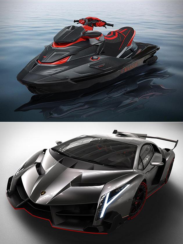 Carbon Fiber Jet Ski Ideas