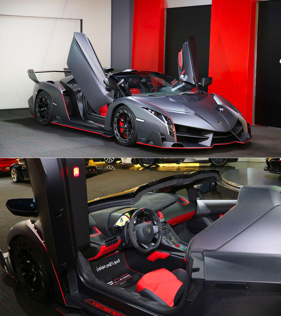 Exposed Carbon Fiber Lamborghini Veneno Roadster Will Cost