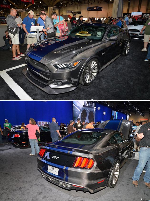Carbon Fiber Mustang