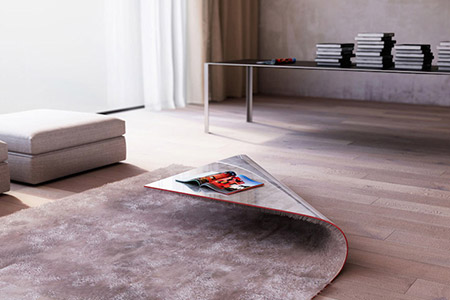 This is not an optical illusion just one of the coolest - Table basse laquee beige ...