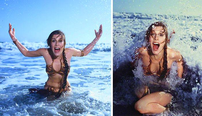 Carrie Fisher Return of the Jedi Princess Leia