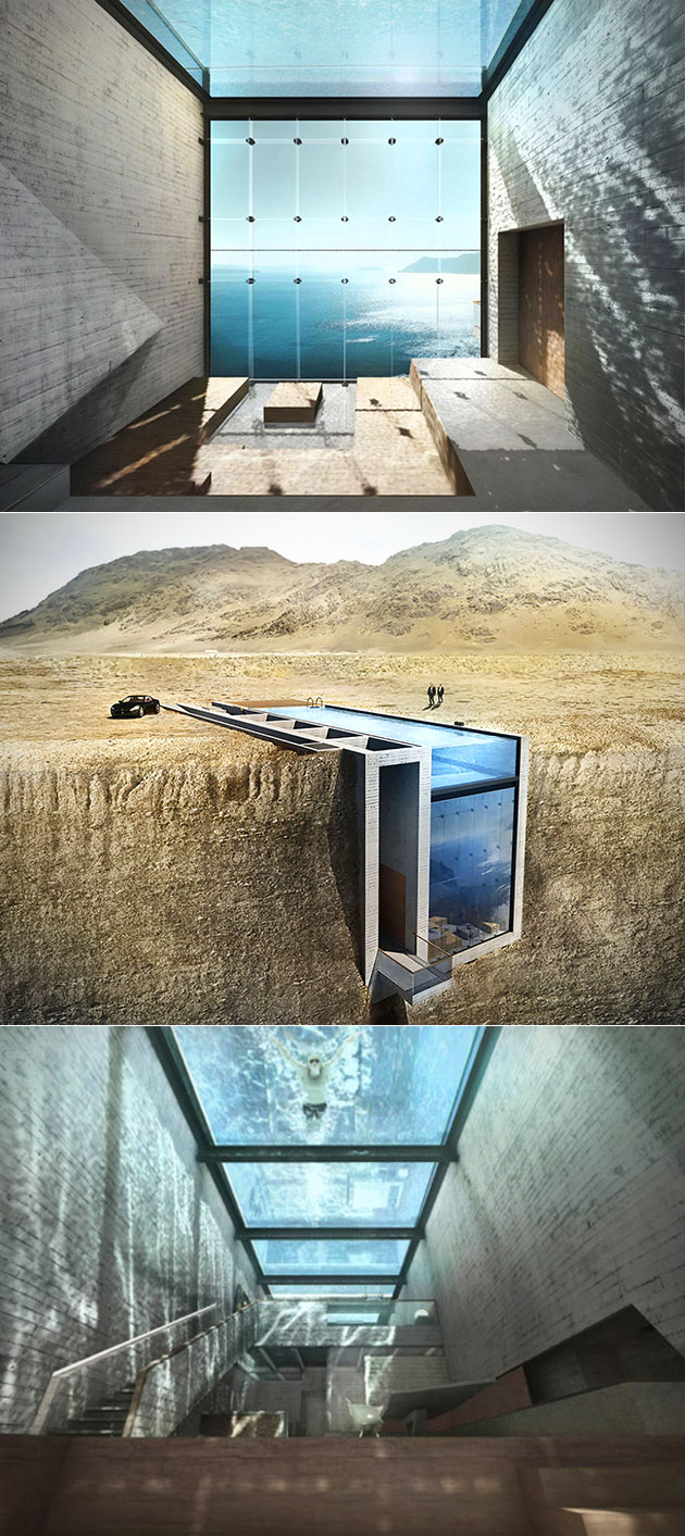 Home Carved Into Cliff