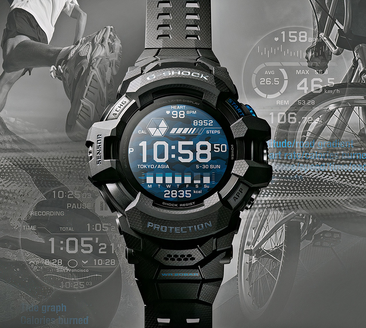 Casio GSW-H1000 G-SHOCK Smartwatch