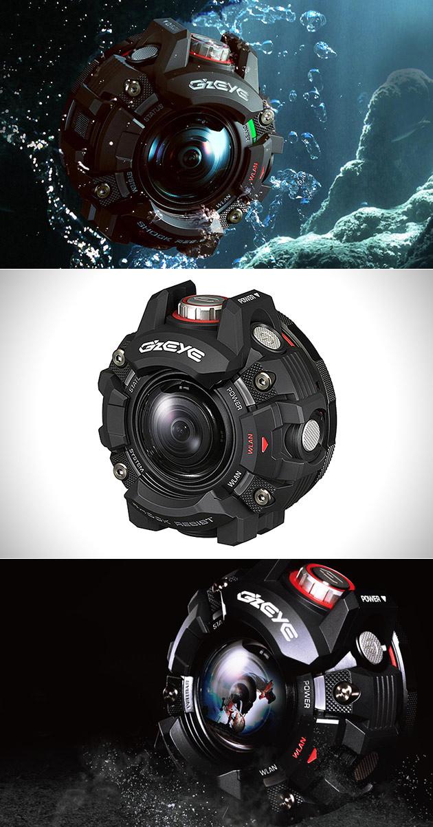 Casio G'z Eye Action Camera