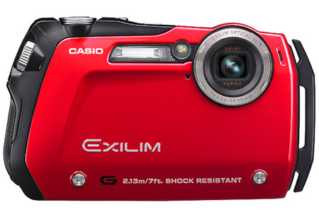 Casio EX-G1: The Slimmest Shock-Resistant Digital Camera ...