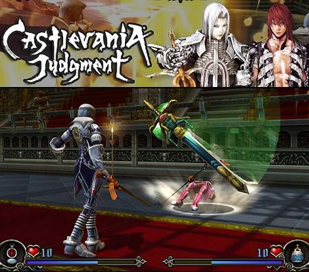 Castlevania Judgement Gameplay