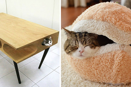 24 Geeky Furniture Creations Designed Specifically For Cats Techeblog